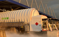 C4T adds LNG & CNG to truck stop in Calais